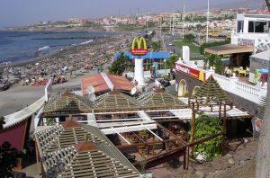 Zona comercial y de ocio Fañabé Tenerife